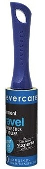 Evercare Travel Size Lint Roller - 30 Sheets Extra Sticky