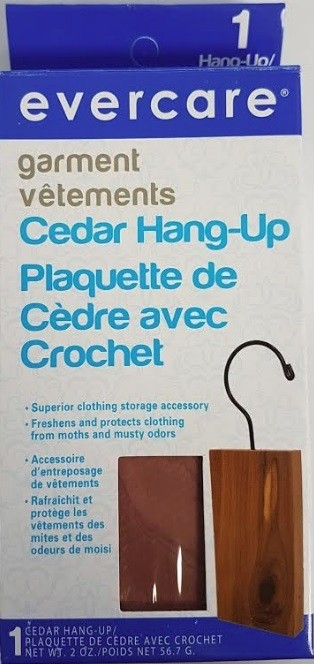 Evercare Cedar Hang-Up - Garment Care - 1pc
