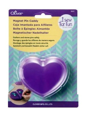 Clover I Sew For Fun Magnetic Pin Caddy By Nancy Zieman