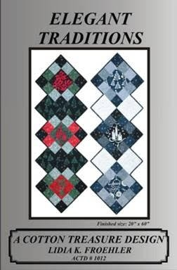 Elegant Traditions Pattern by Lidia K. Froehler of A Cotton Treasure Design