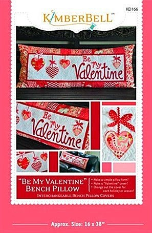 Be My Valentine - Bench Pillow