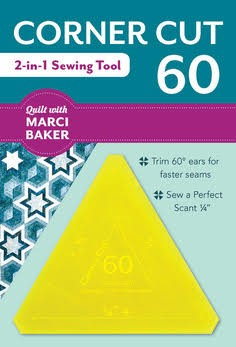 CORNER CUT 60 - 2-IN-1 SEWING TOOL from Quilt with Marci Baker