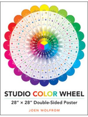 """Studio Color Wheel: 28"""" X 28"""" Double-Sided Poster"""