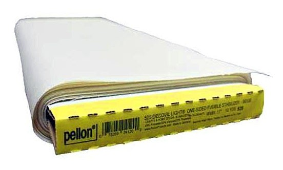 Pellon Decovil Light, One-Sided Fusible, 45% Polyester, 30% Viscose
