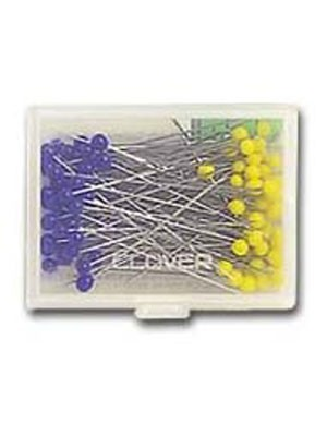 Clover Patchwork Pins, 0.5mm x 36mm, 100 count