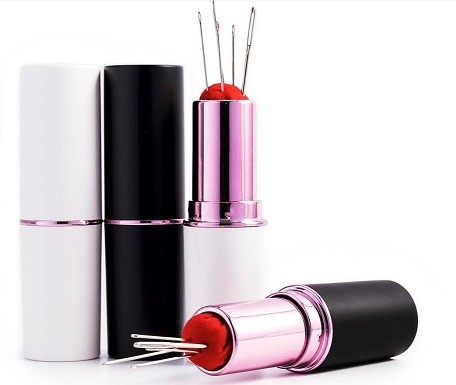 Lipstick Needle & Pin Case Assorted Colours