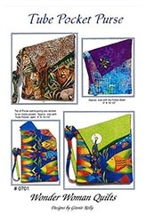 Tube Pocket Purse Pattern by Wonder Woman Quilts