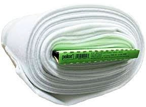 """Pellon Heavy Weight Fusible Fleece, White, 114cm (45"""") Wide x 9.1m (10 Yards), 100% Polyester (Roll)"""