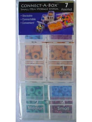 Large Connect-A-Box, 3 Large Boxes, Size: 50mm X 70mm X15mm