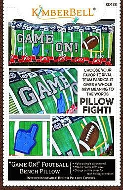 Game On! Football - Bench Pillow