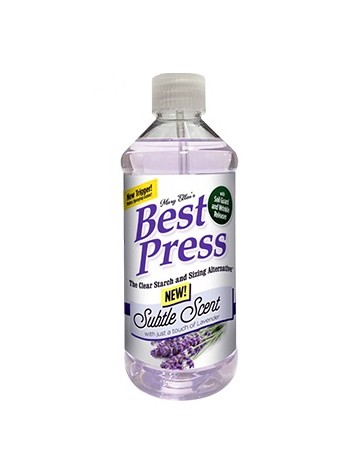 Best Press Starch Spray - Subtle Scent With Just A Touch Of Lavender, 499ml (NEW SCENT!)
