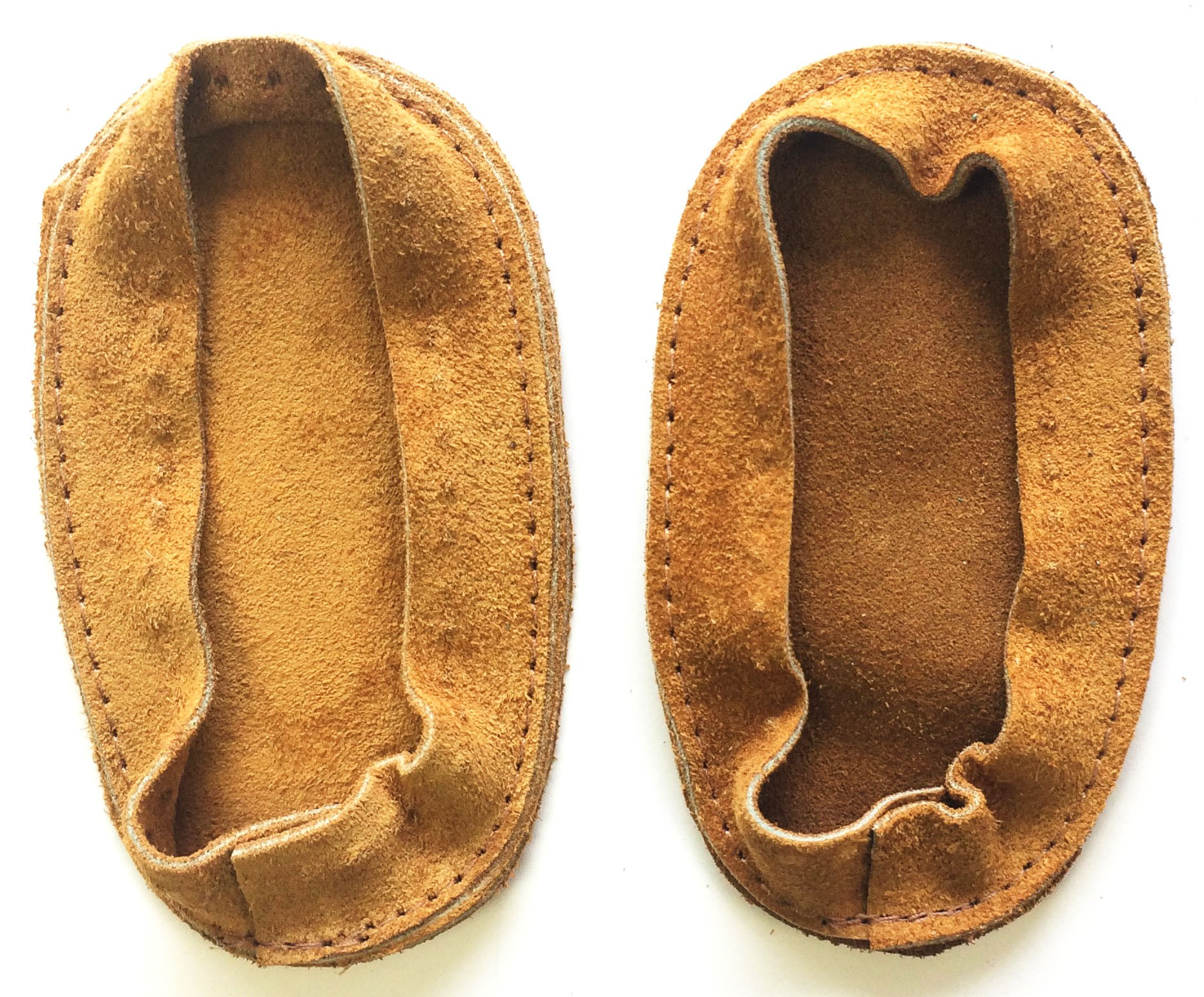 Soul Comfort - Leather Slipper Soles, Child Size 3, Tan (ON SALE - 25%!)