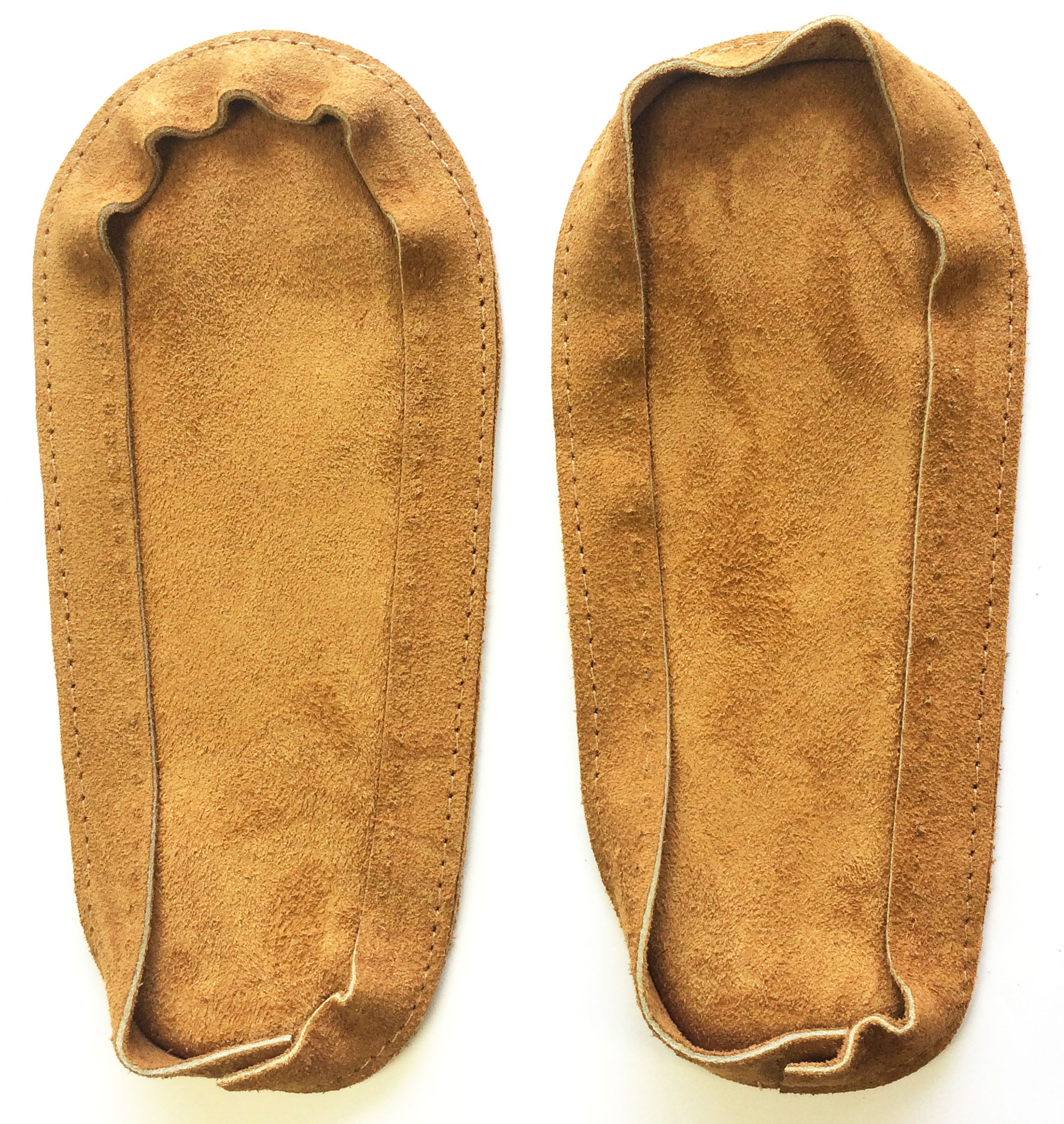 Soul Comfort - Leather Slipper Soles, Youth Size 2, Tan (ON SALE - 25% OFF!)
