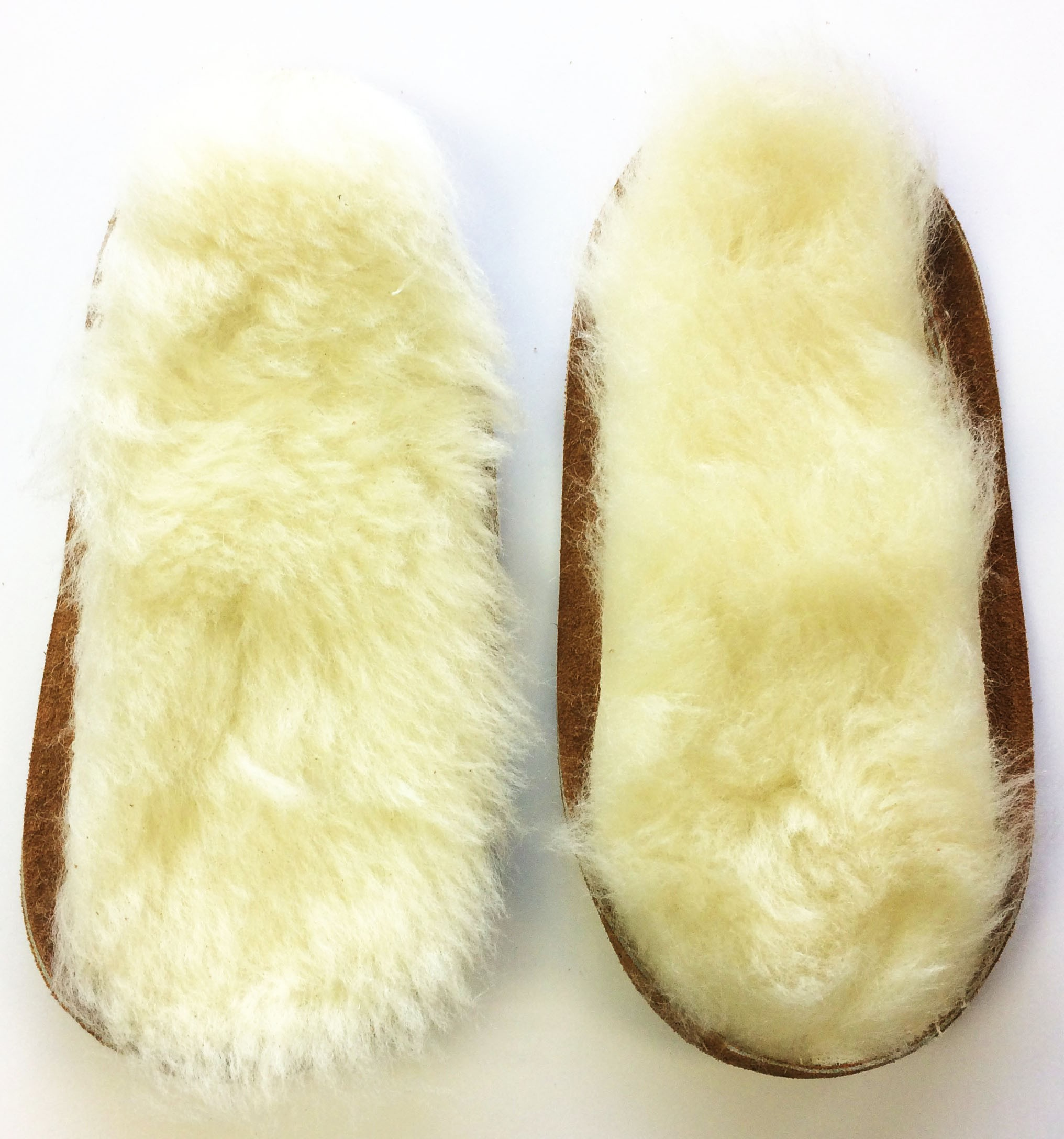 Soul Comfort - Leather Soles & Wool Insoles, Youth Size 4, Tan (ON SALE - 25% OFF!)