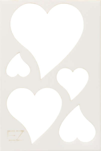 Ez Quilting  Curved Heart Template