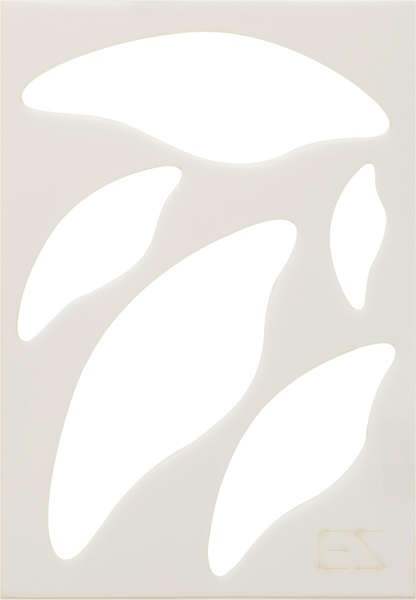 Ez Quilting  Rounded Leaf Template