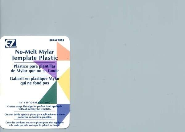 """EZ Quilting Tools Clear Mylar Template, 12"""" x 18"""""""