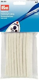 Interfacing for Piping, 6mm x 5M, White
