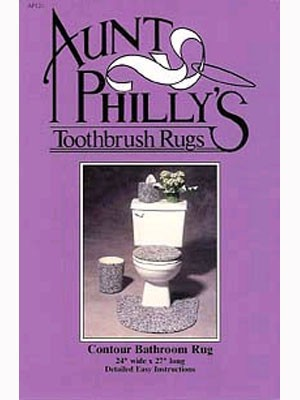 Aunt Philly's Contour Bathroom Rug Pattern