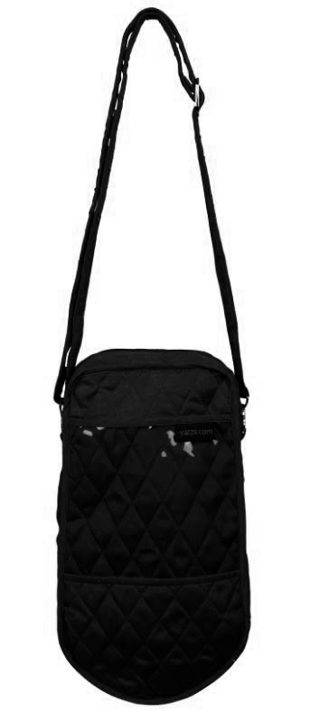 Yazzii Single Knitting Tote, Black - Pre-order it today with 5% off!