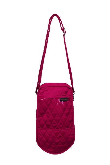 Yazzii Single Knitting Tote, Fuchsia
