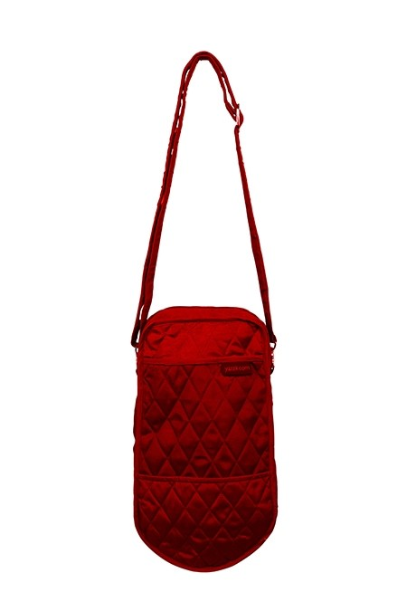 Yazzii Single Knitting Tote, Red