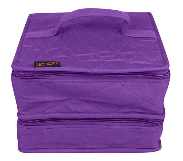 Yazzii The Deluxe Double Organizer, Purple