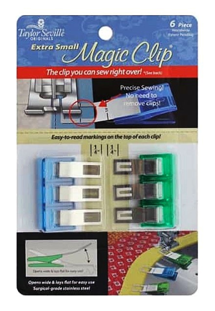 Taylor Seville Magic Clips, Extra Small Size, 6pc.