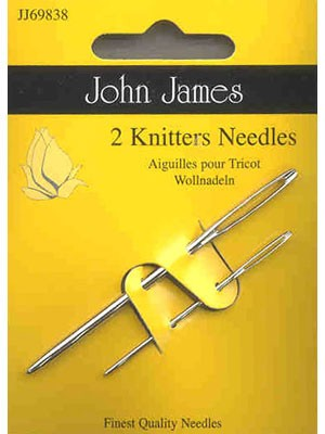 John James Knitter's Needles, 2 Count