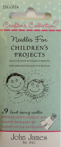 John James Needles For Children's Projects