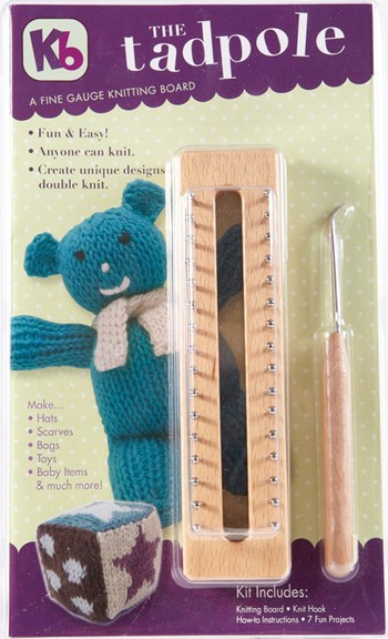 Authentic Knitting Board Tadpole Knitting Board With Instructions