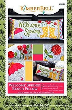 Welcome Spring! Bench Pillow
