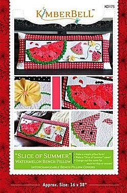 Slice of Summer Watermelon - Bench Pillow