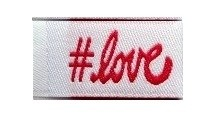 Tag It Ons # Love Tags, 12pc.