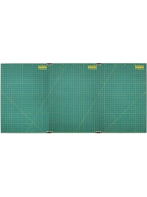"""Olfa Cutting Mat Set 3 With Continuous Grid, 35"""" X 70"""""""