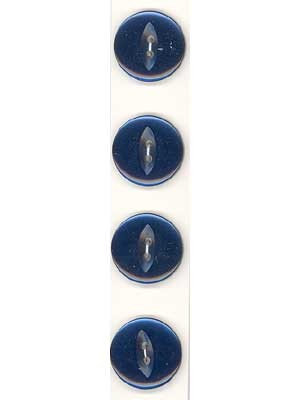 Slimline Buttons, 2-Hole, Size 30, Navy 4  Count