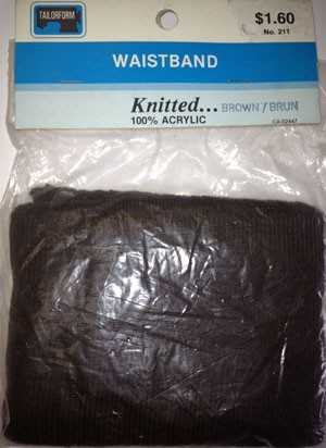 Waistband Knitted Brown
