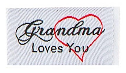 Tag It Ons Grandma Loves You Tags, 12pc.
