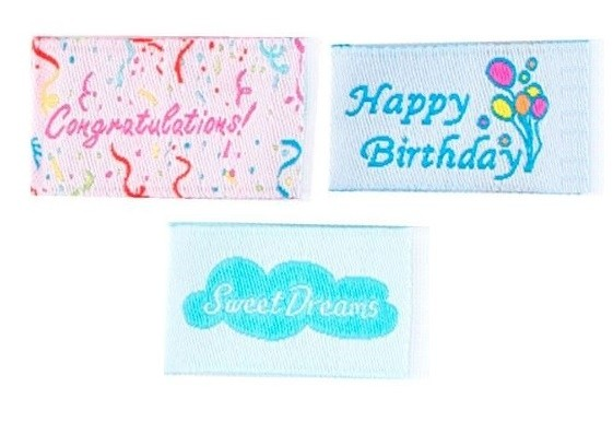 Tag It Ons Happy Birthday, Sweet Dreams & Congratulations Tags, 12pc. (4pc each)