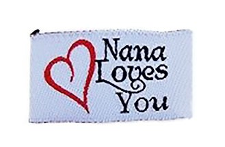 Tag It Ons Nana Loves You Tags, 12pc.