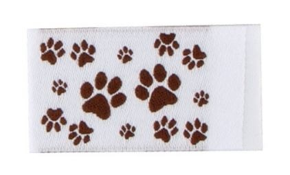 Tag It Ons Paws Tags, 12pc.