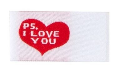Tag It Ons P.S. I Love You Tags, 12pc.