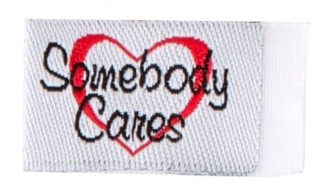 Tag It Ons Somebody Cares Tags, 12pc.