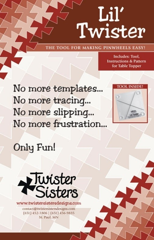 Lil' Twister - Includes Tool, Instructions & Pattern for Table Topper
