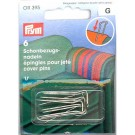 Cover Pins, U-shaped, 6 count