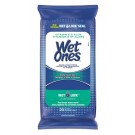 Wet Ones Aloe & Vitamin E Hand & Face Wipes, 20pc. (Gently Cleans Skin
