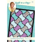 Twisted Nine-Patch Quilt Pattern (Wonky Ruler Required - Item # 02040)