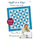 Hunter's Star Quilt Pattern by Quilt In a Day