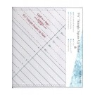 "9.5"" Triangle Square Up Ruler"