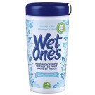 Wet Ones Vitamin E & Aloe Hand & Face Wipes (Gently Cleans Hands & Face - Great For Sensitive Skin!)